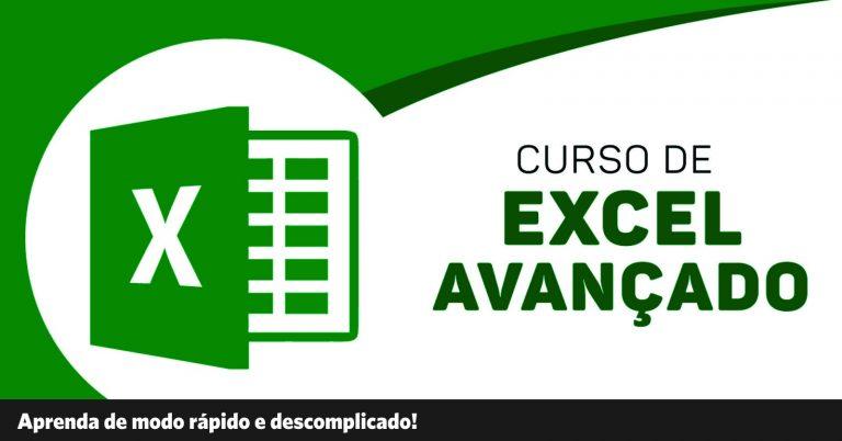 Curso de Excel Avançado: Tenha a mentalidade de um Analista
