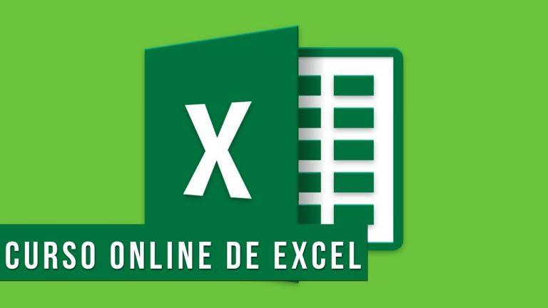 Curso de Excel Online – Material Digital, Curso Virtual